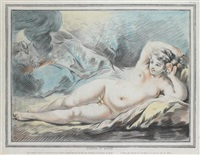 jupiter et danaë (after f.boucher) by louis marin bonnet