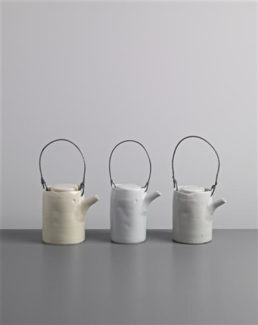 teapots set of 3 by edmund de waal