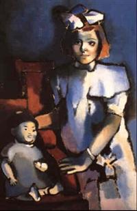 ines en su infancia by francisco rodon
