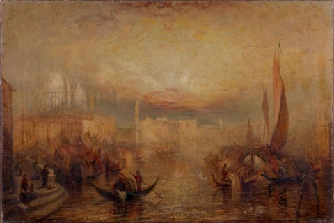 vue de venise by joseph mallord william turner