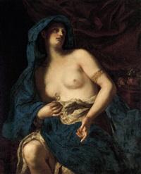 der selbstmord der cleopatra by ludovico antonio david