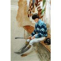 pensive jockey by henry koehler
