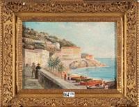 côte italienne animée by alberto vianelli