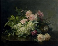 jeté de fleurs by edmond allouard