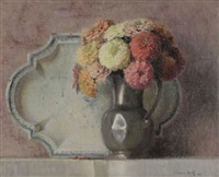 nature morte au bouquet by jacques bille