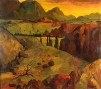 paisaje de potrerillos by roberto azzoni