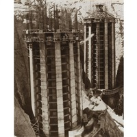 hoover dam (+ arizona intake towers, boulder dam; 2 works) by ben glaha