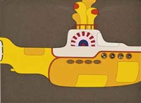 the beatles in the yellow submarine (from yellow submarine) by anonymous (20)