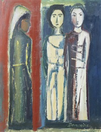 three women by pranas domsaitis