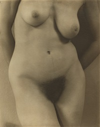 georgia o'keeffe, a portrait-torso by alfred stieglitz