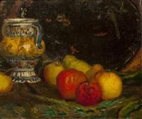 stillleben mit äpfeln by karel spillar