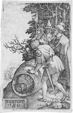 marcus curtius 2 others 3 works by georg pencz