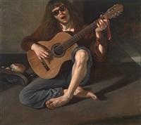 gitarspiller by odd nerdrum