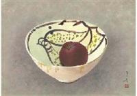 persian vase by hoshun yamaguchi