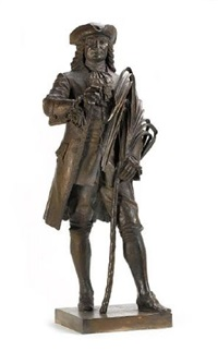 figure of bertrand-francois mahe de la bourdonnais by herbert h. cawood