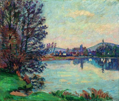 villeneuve sur yonne by armand guillaumin