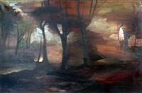 landscape by alexandre alexeieff