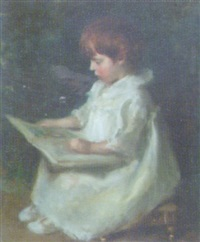 portrait of albert hugh dudley tyas aged 2 by hugh de twenebrokes glazebrook