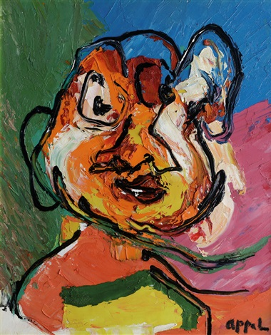 personaggio by karel appel
