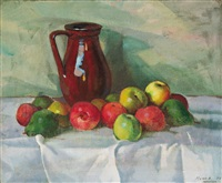 still life on the table by hugo mund