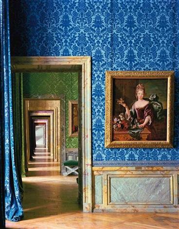 portrait of françoise marie de bourbon château de versailles by robert polidori