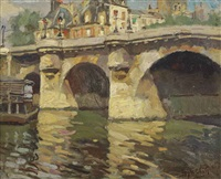 pont neuf, paris by hendrik jan wolter