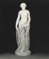 figure of a lady by benjamin (paul) akers