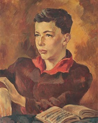 portretul lui şerban alexander by lucretia mihail-silion