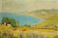 paesaggio della riviera by amedeo angilella
