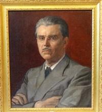 autoportrait by auguste leroux