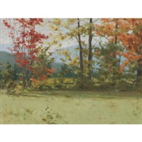 landscape with autumn tints by george agnew reid
