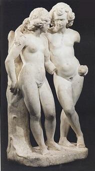 adamo ed eva by michelangelo naccherino