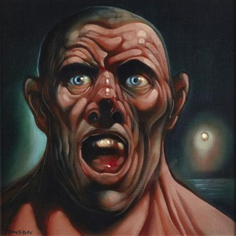 shout night sky by peter howson