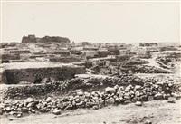 chaubak, vue de puis l'est by henri sauvaire