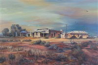 ghost town of the flinders ranges, beltana, s.a. by kenneth william david jack