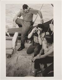 che guevara & fidel castro, ernest hemingway marlin fishing contest, cuba by alberto diaz gutierrez korda