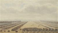 revue militaire sur le champ de mars by theodore jung