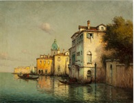 a canal in venice by noel georges bouvard