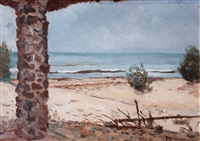 vista a la playa by carmelo de arzadún