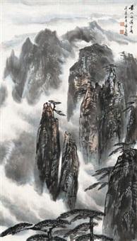 黄山西海一角 (landscape) by xu zihe
