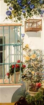 balcón florido y jaula by horacio lengo y martinez