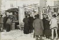 le marché aux puces by georges paul leroux