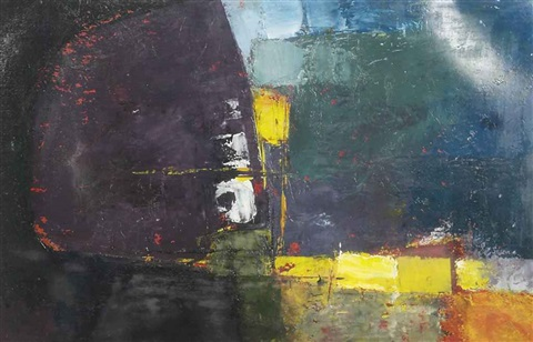 abstract composition by donald hamilton fraser