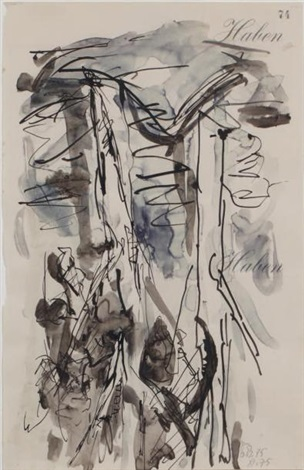 arbre by georg baselitz
