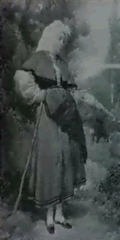 mujer asturiana by antonio caba y casamityana