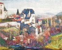 château de saint-amant-tallende by victor charreton