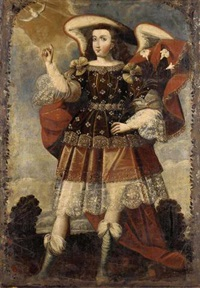 arcángel gabriel by peruvian school (17)
