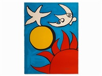 sun, moon and stars, usa by alexander calder
