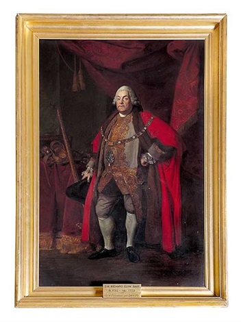 sir richard clyn lord major of london 1754 by johann joseph zoffany
