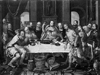 the last supper by pieter pietersz. aertsen